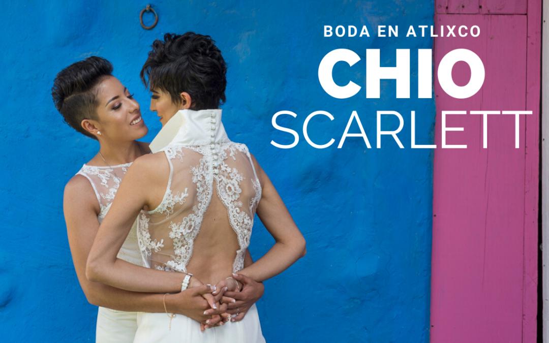 Boda en Atlixco, Chio+Scarlett.